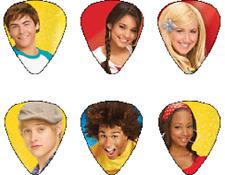 HOT PICKS  Lot de 6 médiators High School Musical