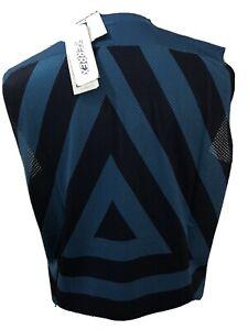 Adidas Mens Terrex NWT Geometric Sleeveless Shirt Workout Gym Running Lrg N25