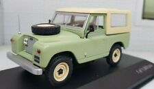 1:43 Scale Diecast Model Land Rover Series 2 2a 88 SWB Green Whitebox