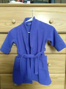 Toddler Bathrobe Purple blue In a very good condition.