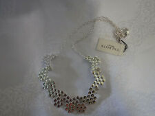 Talbots Silver Delicate Metal Necklace