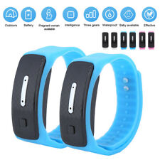 Ultrasonic Anti-Mosquito Bracelet Non-Toxic Insect Repeller Watch Indoor Outdoor