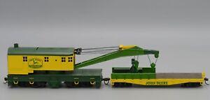 Athearn #7731 HO Scale John Deere 200-Ton Crane & Tender