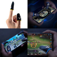 Para PUBG Game Sweat-proof Fingers Gloves Touch Screen Thumbs Cover Sleeve 1 Par