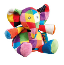 Elmer Rattle Soft Plush Toy Elephant  New Baby / Shower Gift     FAST DISPATCH!
