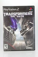 TRANSFORMERS THE GAME - PLAY STATION 2