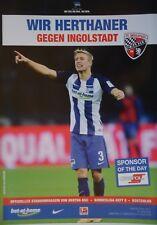 Programm BL 2016/17 Hertha BSC Berlin - FC Ingolstadt