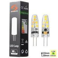 caravan motorhome led 12 volts led bulbs g4 2835SMD 12V AC/DC 1.5W DIMABLE