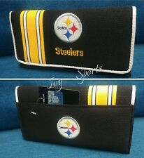NFL Pittsburgh Steelers Women's Organizer Mesh Wallet 2018 *New*