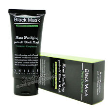 SHILLS Acne Purifying Blackhead Remover Peel-Off Black Mask 50ml deep Cleansing