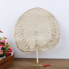 Hand-woven Baby Mosquito Repellent Fan Summer Manual Straw Hand Fans Palm L*ss