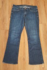 Old Navy Womens 12 Regular Sweetheart Classic Bootcut Jeans Stretch Blue Denim