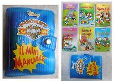 Mini manuale Disney Pocket GM Giovani Marmotte Il minimanuale 6 manuali in 1
