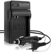 Blumax Auto PKW LKW Ladegerät für Olympus VR-360 Kit , XZ-1 , u 1010 , u 1030SW