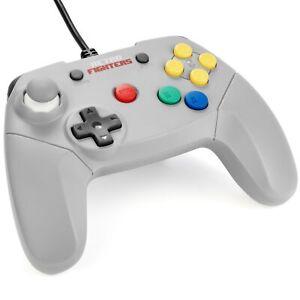 Mando Nintendo 64 Retro Fighters Brawler 64 gris N64 nuevo