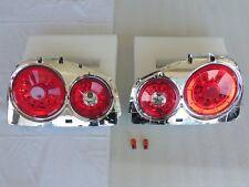 New Clear Red LED Tail light for 98 99 00 01 02 Nissan Skyline R34 GTR GTT