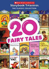 20 Fairy Tales: Scholastic Story Treasure (DVD, 2015) Brand New