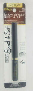 L'Oreal Paris Cosmetics Brow Stylist Boost and Set Brow Mascara Pick Your Shade