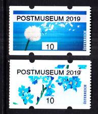 "4.5.2019, postfr. **, AWZ,ATM, 10 C- Paar,""POSTMUSEUM 2019"";"