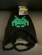 New with Tags NWT Space Invaders Peruvian Beanie Laplander Hat