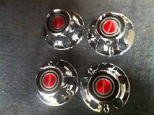 FORD F100 PARTS WHEEL CENTRE HUB CAP X4 NEW 2X4 CHROME F150 F100