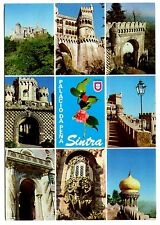 Sintra Portugal Postcard National Palace of Pena Posted 1983