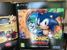 Figurine :      SONIC MANIA PS4     EDITION COLLECTOR        NEUF / NEW