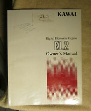 Kawai KL2 Digital Electronic Organ Owner's Manual