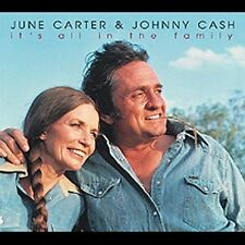 It's All In The Family by Johnny Cash/June Carter CD Import Germany
