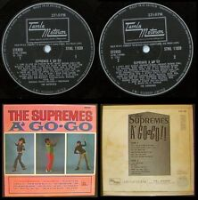 THE SUPREMES A GO GO LP (A-1/B-1) 1966 DIANA ROSS TAMLA MOTOWN MOD NORTHERN SOUL