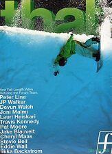 That mit Peter Line, JP Walker, Pat Moore ( Snowboarding Sport Extreme) DVD