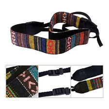 Vintage Camera Shoulder Neck Strap For Nikon Canon Sony Panasonic SLR DSLR Slim