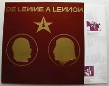 NEW-Unplayed!! V/A DE LENINE A LENNON Russian bands FRENCH only LP NEW ROSE(1989