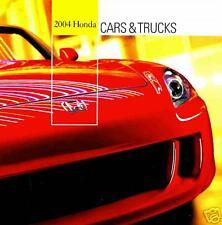 2004 HONDA BROCHURE-CIVIC HYBRID-S2000-INSIGHT-ELEMENT