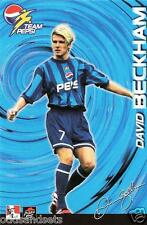 David Beckham Team Pepsi Soccer Promo Card (Malaysia) (KFC/Taco Bell) (Late 90s)