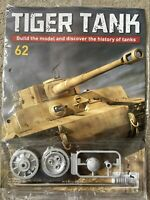 1/16 HACHETTE BUILD YOUR OWN TIGER MODEL TANK ISSUE 62 INC PART