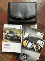 2012 BMW X5 X5M E70 OWNERS MANUAL GUIDE BOOK SET WITH CASE Genuine 2009-2015