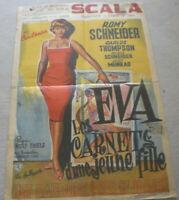 klein, Filmplakat,Plakat, LES CARNENTS D UNE JAUNE FILLE ,ROMY SCHNEIDER,# 96