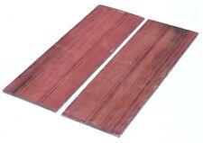 Purpleheart Cue Knife Exotic Wood Guitar Tonewood Blank Lumber 0.15 x 3 x 9.3