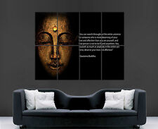 BUDDA ZEN RELIGION QUOTE POSTER WALL ART PRINT IMAGE LARGE GIANT HUGE PICTURE G