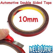 Automotive Double Face Sided Tape Auto Grade 10mm 3 Meters Acrylic Foam #10x3M