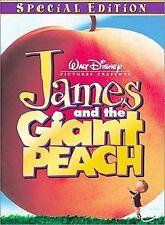 James and the Giant Peach (DVD, 2000)  Disney  Tim Burton  w/Original Insert