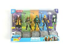 Fortnite Collector's Set of 5 15 Piece Set Action Figures Epic Games