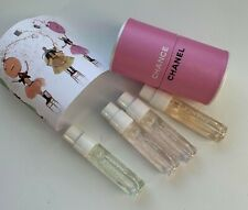CHANEL Chance samples Eau Fraiche Tendre Vive set 4x 1.5 ml NEW VIP GIFT