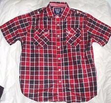 L Large Akademiks Button Down Shirt Men