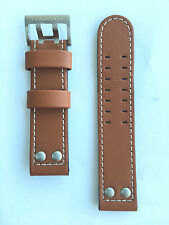 Original Hamilton Khaki X-Wind Brown Leather Strap Band for H77616533 H77616333