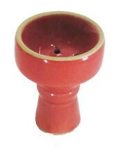Large Universal Ceramic Red Hookah Bowl Hooka Nargila Pipe Shisha Big Head 3.1