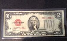 1928-D $2 Red Seal Note