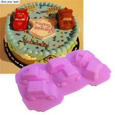 Mini Car silicone Mold Chocolate Cake Candy Cupcake Baking Tools Supplies G