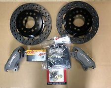 "WILWOOD FORD 9"" INCH DRAG DISC BRAKE KIT BIG BEARING NEW(Torino) 2.50 BACKSPACE"